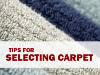 Tips from Care Pros on Selecting Carpeting