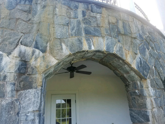 Stone Facade Cleaning