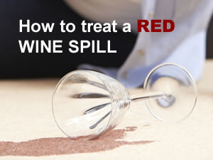 Red wine stain? No problem