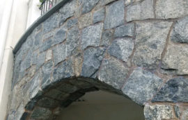 Golf Club Stone Facade Cleaned