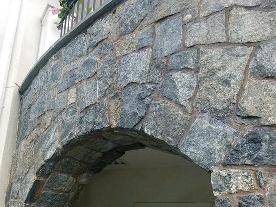 Stone Facade Restored